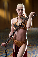 Monique Renee Slave Leia